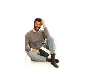 Gloria Med Men's Support Cotton Socks (15-18mmHg) MS15C