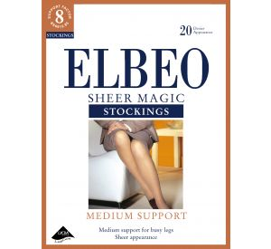 Elbeo Sheer Magic Stockings (Support Factor 8) A428