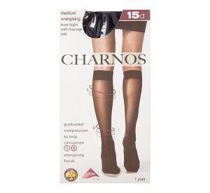CHARNOS Medium Support Sheer Knee Highs  ( 8mmHg ) CFXP