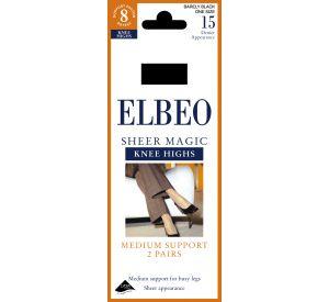 Elbeo Sheer Magic Knee Highs  (Support factor 8) EL88