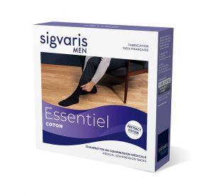 Sigvaris Essential Coton (Instinct) Compression  Below Knee for Men (15-20mmHg) AFNOR Class 2