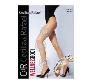 Cecilia de Rafael Granate 40 Support Tights (8 - 11 mmHg)