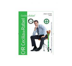 Cecilia de Rafael Daily Active 200 Den Men's Compression Knee High Socks (18-21mmHg)