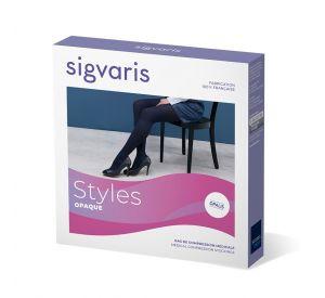 Sigvaris Style Opaque (Opalis) Matt Opaque Compression Below Knee (15-20mmHg) AFNOR Class 2