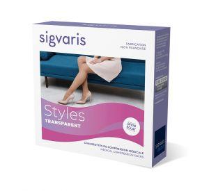 Sigvaris Style Transparent (Divin Eclat) Class 2 Below Knee (15-20mmHg) AFNOR Class 2