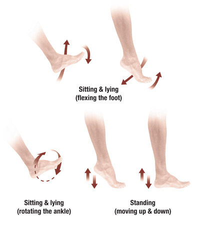 3 Exercises To Improve Circulation Whilst Sitting