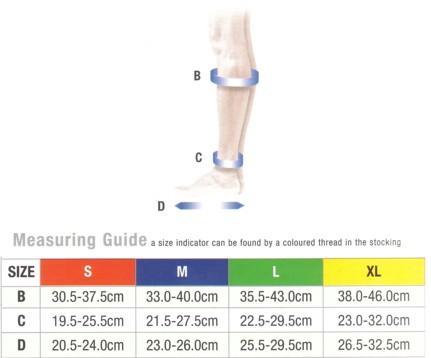 363c6fb858 Activa Unisex Sock Medical Support Varicose Vein Circulation ...