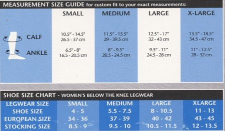 Venosan MicroFiberline Socks for Women (Support Factor 15 to 20) VMW