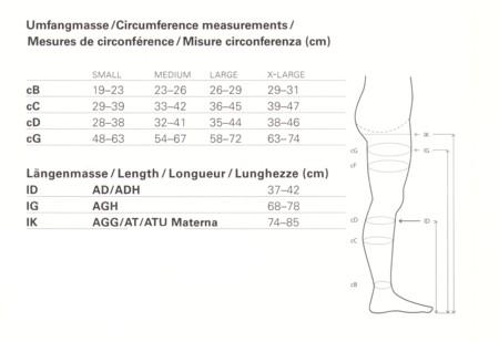 Venosan Below Knee  (23-32 mm Hg ) V42 AD