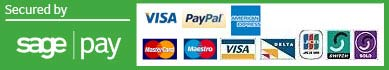 Accepted Payment Methods VISA, MASTERCARD, PAYPAL